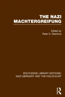 The Nazi Machtergreifung, Hardback Book