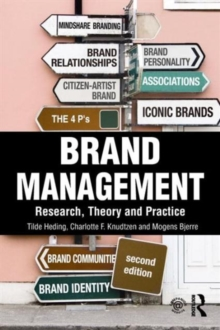 Brand Management : Research, Theory and Practice, Paperback Book