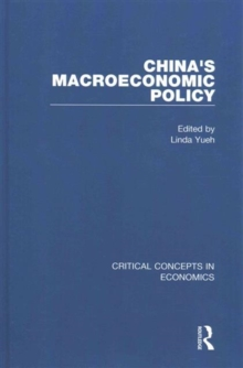 China's Macroeconomic Policy, Hardback Book