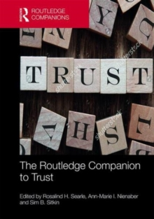 The Routledge Companion to Trust, Hardback Book