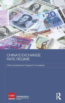 China's Exchange Rate Regime, Hardback Book