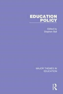 Education Policy (4-vol. set), Hardback Book