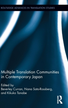 Multiple Translation Communities in Contemporary Japan, Hardback Book