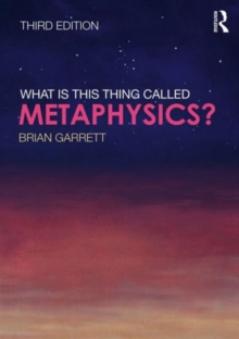 What is this thing called Metaphysics?, Paperback / softback Book