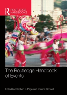 The Routledge Handbook of Events, Paperback / softback Book