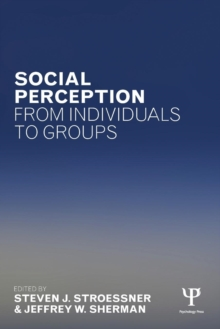 Social Perception from Individuals to Groups, Paperback / softback Book