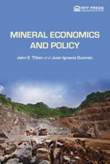 Mineral Economics and Policy, Paperback Book