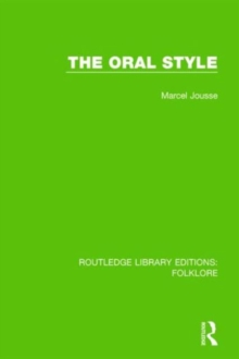 The Oral Style, Hardback Book