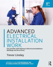 Advanced Electrical Installation Work 2365 Edtion, Paperback Book