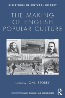 The Making of English Popular Culture, Paperback Book