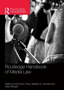 Routledge Handbook of Media Law, Paperback / softback Book