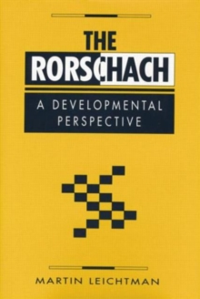 The Rorschach : A Developmental Perspective, Paperback / softback Book