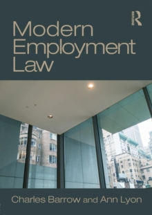 Modern Employment Law, Paperback Book