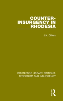 Counter-Insurgency in Rhodesia, Hardback Book