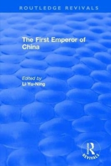 The First Emperor of China, Hardback Book