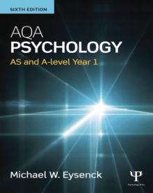 AQA Psychology : AS and A-level Year 1, Paperback Book