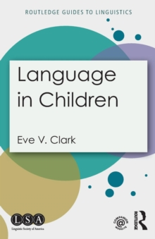 Language in Children, Paperback / softback Book
