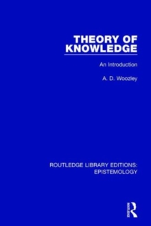Theory of Knowledge : An Introduction, Hardback Book