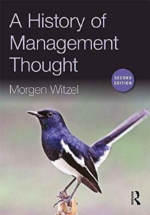 A History of Management Thought, Paperback / softback Book
