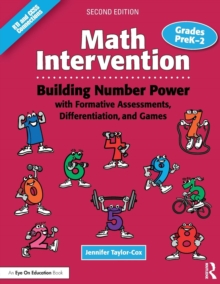 Math Intervention P-2 : Building Number Power with Formative Assessments, Differentiation, and Games, Grades PreK-2, Paperback / softback Book