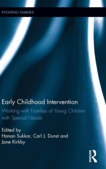 Early Childhood Intervention : Working with families of young children with special needs, Hardback Book