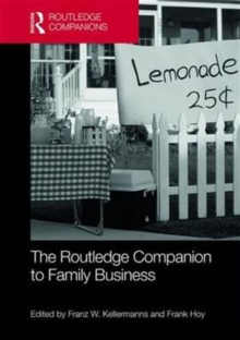 The Routledge Companion to Family Business, Hardback Book