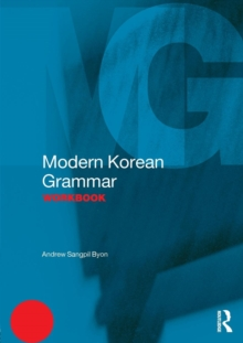 Modern Korean Grammar Workbook, Paperback / softback Book