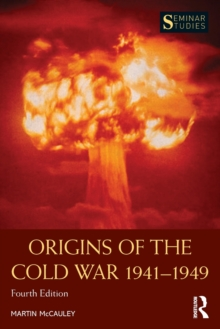Origins of the Cold War 1941-1949, Paperback Book
