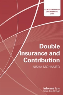 Double Insurance and Contribution, Hardback Book