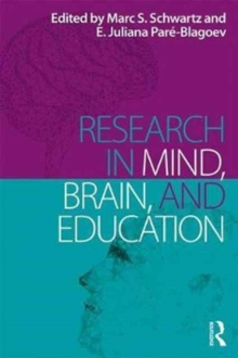 Research in Mind, Brain, and Education, Paperback / softback Book