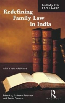 Redefining Family Law in India, Paperback Book