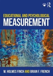 Educational and Psychological Measurement, Paperback / softback Book