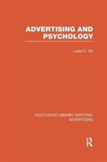 Advertising and Psychology, Paperback / softback Book