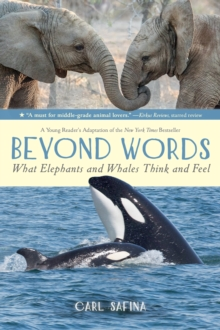 Beyond Words: What Elephants and Whales Think and Feel (a Young Reader's Adaptation), Paperback / softback Book