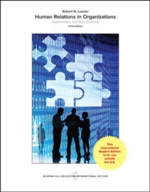 Human Relations in Organizations: Applications and Skill Building, Paperback / softback Book