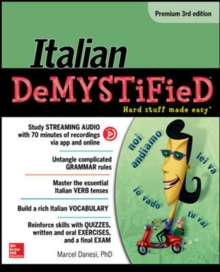 Italian Demystified, Premium, Paperback / softback Book