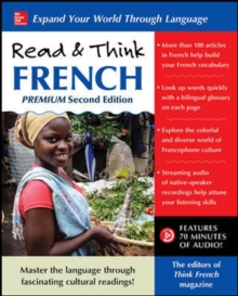 Read & Think French, Premium Second Edition, Paperback / softback Book