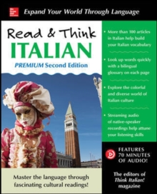 Read & Think Italian, Premium Second Edition, Paperback Book
