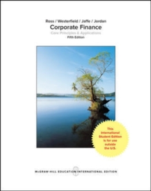 Corporate Finance: Core Principles and Applications, Paperback / softback Book