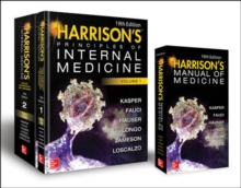 Harrison's Principles of Internal Medicine 19th Edition and Harrison's Manual of Medicine 19th Edition VAL PAK, Mixed media product Book