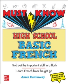 Must Know High School Basic French, Paperback / softback Book
