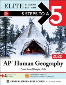5 Steps to a 5: AP Human Geography 2020 Elite Student Edition, Paperback / softback Book