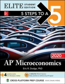 5 Steps to a 5: AP Microeconomics 2020 Elite Student Edition, Paperback / softback Book