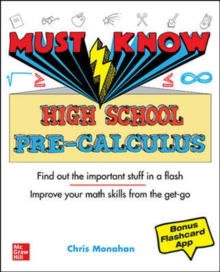 Must Know High School Pre-Calculus, Paperback / softback Book
