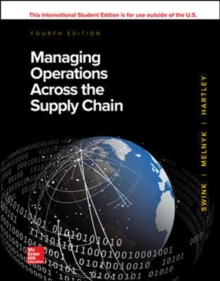 Managing Operations Across the Supply Chain, Paperback / softback Book