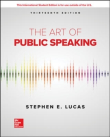 The Art of Public Speaking, Paperback / softback Book
