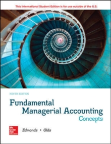 Fundamental Managerial Accounting Concepts, Paperback / softback Book