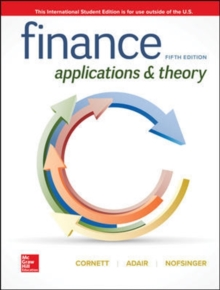 ISE Finance: Applications and Theory, Paperback / softback Book
