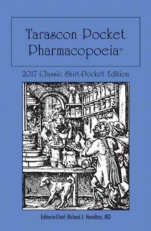 Tarascon Pocket Pharmacopoeia 2017 Classic Shirt-Pocket Edition, Paperback / softback Book