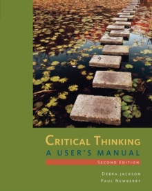Critical Thinking : A User's Manual, Paperback Book
